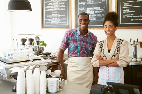 Happy-Couple-Coffee-Shop-Individual-401(k)
