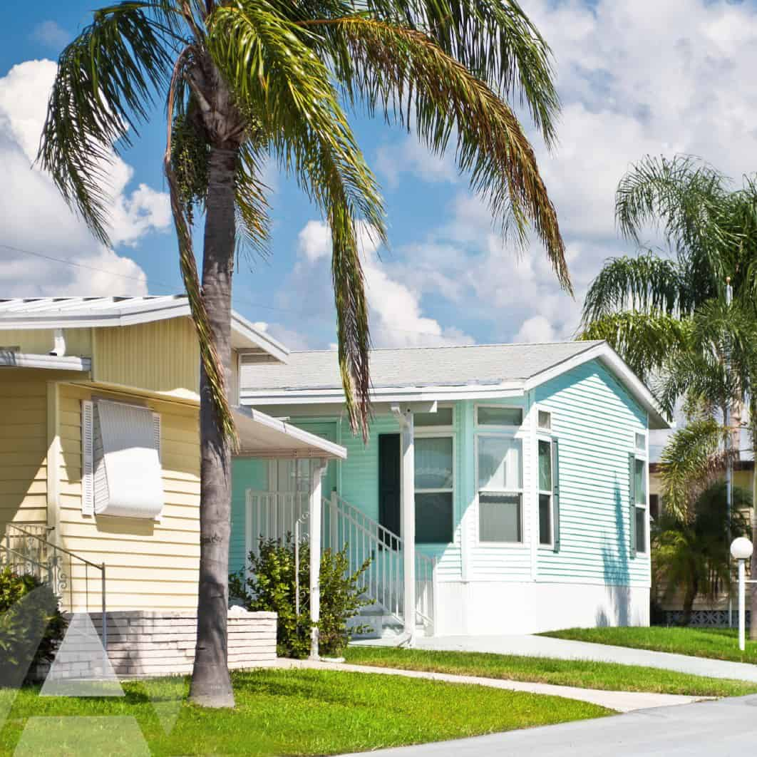 d mobile home park that is well maintained