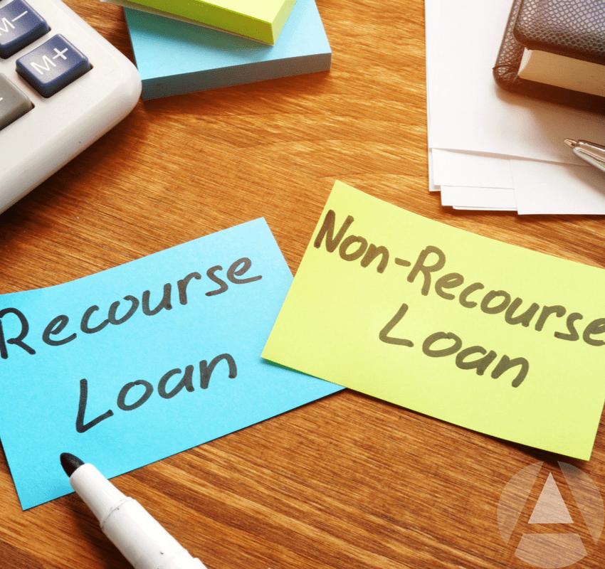 Recourse loans vs non recourse loans